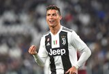 """M.Allegri sulygino C.Ronaldo su Z.Ibrahimovičiumi: """"Tokie futbolininkai linksminasi tik laimėdami"""""""