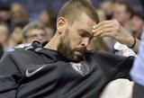 """M.Gasolis nesutarė su """"Grizzlies"""" treneriu, šio atleidimas nustebino NBA žaidėjus"""
