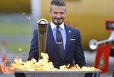 D.Beckhamas neįtrauktas į Olimpinę Didžiosios Britanijos futbolo sudėtį