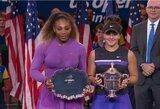 """Ketvirtą aukščiausio rango finalą iš eilės pralaimėjusi S.Williams: """"Serena šiandien korte nepasirodė"""""""