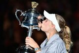 "Nuostabiame ""Australian Open"" finale – dviguba C.Wozniacki pergalė"