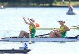 Keturi Lietuvos irkluotojai kovos dėl pasaulio jaunių čempionato medalių