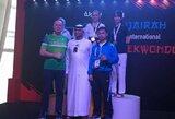 Pirmos kategorijos tekvondo turnyre – lietuvės triumfas (papildyta)