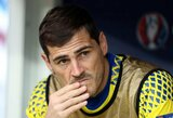 I.Casillasui neliko vietos Ispanijos rinktinės sudėtyje