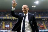 """Buvęs """"Juventus"""" treneris M.Allegri šiemet naujo darbo neieškos"""