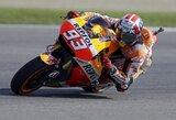 Į lemiamą šturmą kylantis M.Marquezas laimėjo Indianapolio GP kvalifikaciją
