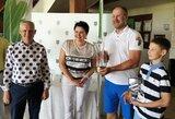 LTOK prezidentės golfo turnyrą laimėjo R.Gaidys