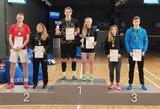 Paaiškėjo naujieji Lietuvos badmintono čempionai