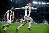 C.Ronaldo atskleidė, kaip pradėjo naudoti savo garsųjį įvarčio šventimą
