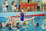 Baigėsi atviros Lietuvos dailiojo plaukimo pirmenybės