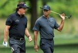 T.Woodsas ir Ph.Mickelsonas kartu su NFL žvaigždėmis susitarė dalyvauti grandioziniame golfo turnyre