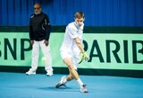 T.Babelis pergalingai startavo vyrų teniso turnyro Turkijoje kvalifikacijoje