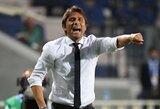 """""""Inter"""" spręs dėl A.Conte ateities po pasirodymo Europos lygoje"""