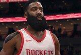 """""""Rockets"""" žvaigždė pateko ant """"NBA Live 18"""" žaidimo viršelio"""