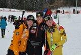 Pirmajame estafetės etape lyderiavusios jaunosios Lietuvos biatlonininkės pasaulio čempionate užėmė 6-ą vietą (komentarai)