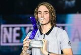 """Next Gen ATP Finals"" turnyras baigėsi S.Tsitsipo triumfu"