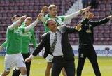 """""""Celtic"""" šeštą kartą iš eilės tapo Škotijos čempionais ir pagerino 100-metį rekordą"""