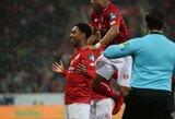 """Vokietijoje – J.P.Matetos """"hat-trickas"""" ir triuškinama """"Mainz"""" ekipos pergalė"""
