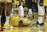 """""""Lakers"""" sezoną užbaigs be L.Ballo"""
