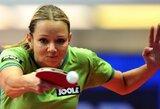 Dramatišką mačą švedėms pralaimėjusios Lietuvos stalo tenisininkės liko be kelialapio į elitinį divizioną
