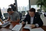 D.Motiejūnas oficialiai pasirašė sutartį su Kinijos komanda