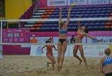 Lietuvos paplūdimio tinklininkės startuoja atrankoje į olimpines žaidynes