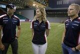 """S.Wolff: """"S.Vettelis yra puikus pavyzdys, kad moteris gali lenktyniauti """"Formulėje 1"""""""