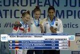 R.Meilutytės pėdomis: K.Teterevkova – Europos jaunimo plaukimo čempionė!