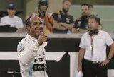 Čempionišką sezoną L.Hamiltonas baigė pagerindamas visų laikų rekordą, C.Leclercas gali gauti baudą