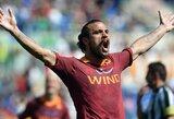 """""""Roma"""" paskutinę minutę įveikė """"Fiorentina"""" klubą"""
