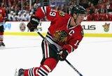 """""""Blackhawks"""" kapitonas J.Toewsas apie NHL sprendimą dėl olimpiados: """"Artėjama prie lokauto"""""""