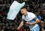 """Po keitimo į aikštę žengęs S.Milinkovičius-Savičius garantavo """"Lazio"""" triumfą Italijos taurės finale"""