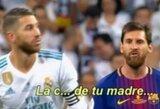 Pamatykite: nepagarbus S.Ramoso elgesys išprovokavo L.Messi