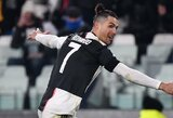 Italijoje – šūsnis C.Ronaldo rekordų