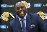 """M.Johnsonas nenustebs dėl blogo """"Lakers"""" sezono starto: """"Taip būna su LeBronu"""""""