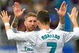 """S.Ramosas neabejoja – """"Real"""" klubo rezultatai nenukentės dėl C.Ronaldo išvykimo"""