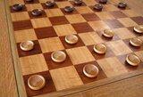 Europos komandiniame greitųjų šaškių čempionate Lietuvos moterys iškovojo sidabrą