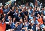 """Bjauria vaidyba pažymėtame derbyje """"Lazio"""" triumfavo """"Roma"""" tvirtovėje"""