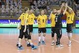Lietuvos vyrų tinklinio rinktinė Europos čempionato atranką pradėjo dramatišku pralaimėjimu