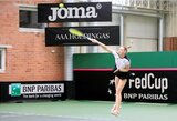 P.Bakaitei Bahreine nepavyko iškovoti WTA vienetų reitingo taško, bet lietuvės galingai pradėjo dvejetų varžybas (papildyta)