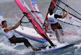Burlentininkas J.Bernotas Europos Čempionų taurės regatoje Olandijoje nukrito į 11-ą vietą