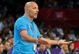 Po pralaimėto finalo Serbijos rinktinės treneris sukritikavo teisėjus