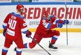 Euroturo ledo ritulio turnyre – rusų ir suomių pergalės