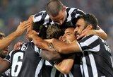"""""""Juventus"""" klubas dar kartą pervažiavo """"Lazio"""""""
