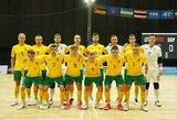 Lietuva pergalingai užbaigė pasiruošimą pasaulio čempionatui