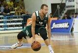 Graikijos taurės ketvirtfinalyje L.Lekavičius nebuvo rezultatyvus