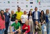 Užfiksavo tikrą dramą: Marijampolėje finišo tiesiojoje susigrūmė mamytės
