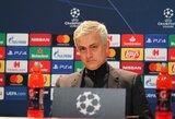 """J.Mourinho nesikuklina: """"Tottenham"""" yra viena  stipriausių iš Čempionų lygoje likusių komandų"""""""