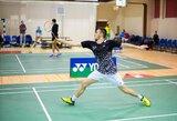 Lietuvos vyrų badmintono rinktinė sutriuškino Liuksemburgą, M.Šamesas nugalėjo antrojo šimtuko žaidėją