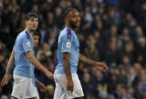 """Anglijos spauda: """"Man City"""" veda derybas su R.Sterlingo dėl naujo kontrakto"""